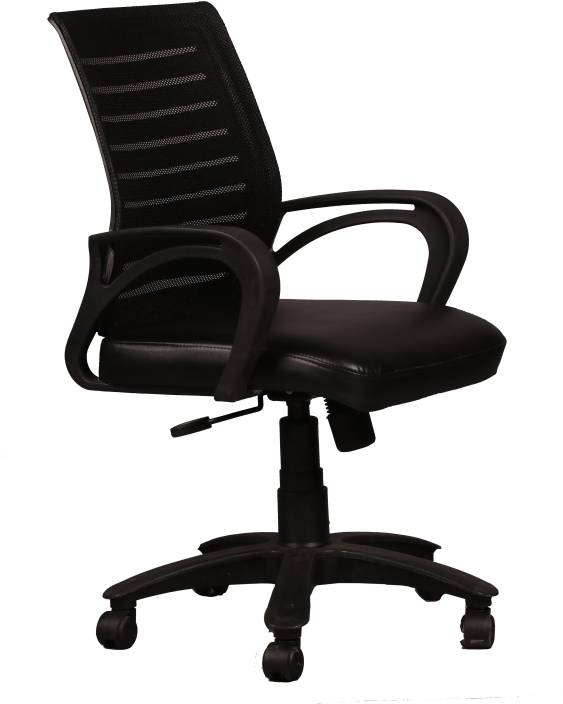 Ks chairs leatherette office arm chair price in india