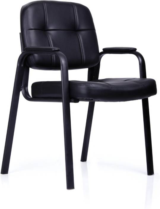 Durian Anjis 32002 Leatherette Office Visitor Chair Price In India