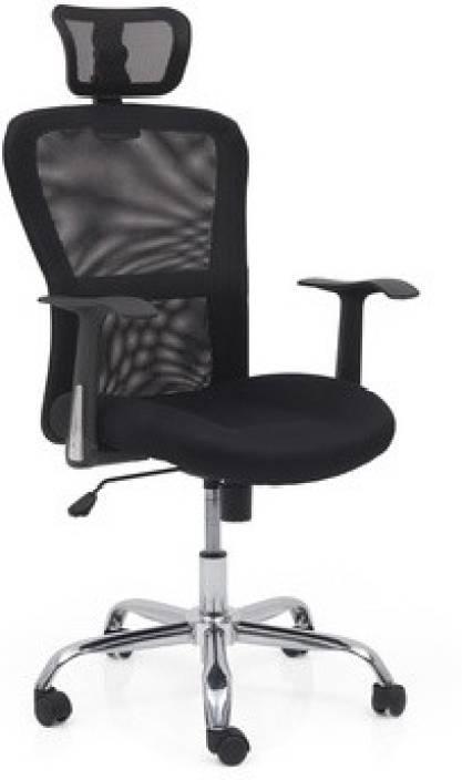 urban ladder venturi leatherette study arm chair price in india