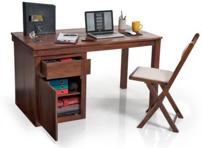 Urban Ladder Bradbury Solid Wood Study Table Price In India Buy