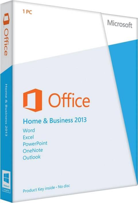 Microsoft Office Home and Business 2013 - Microsoft : Flipkart.com
