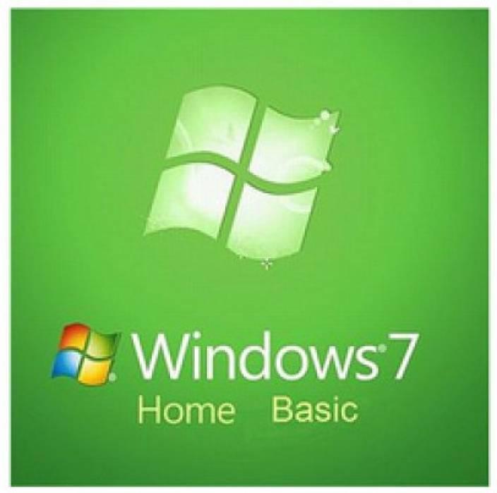 Microsoft Windows 7 Home Basic 32-bit