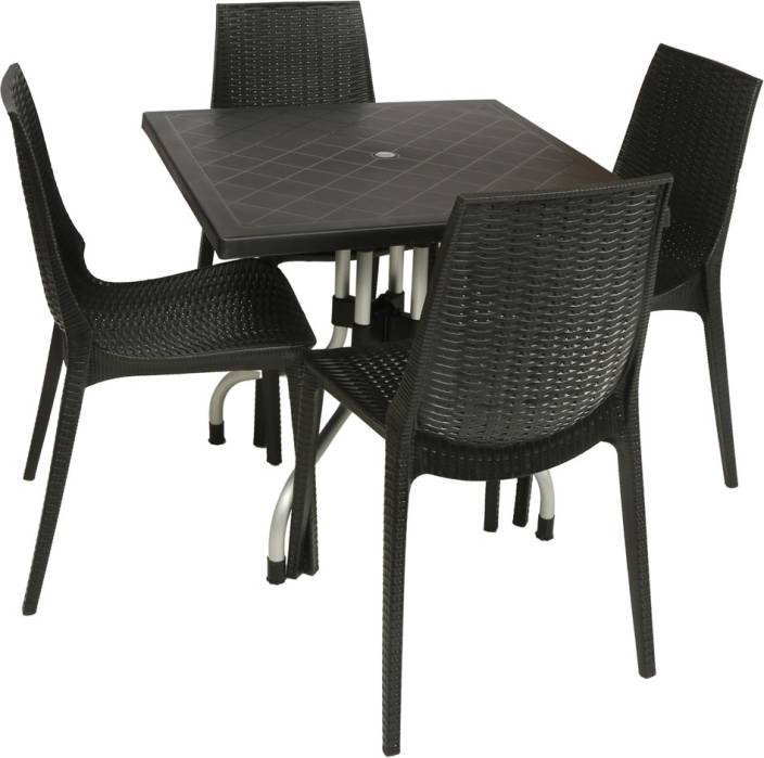 Supreme Wenge Plastic Table Amp Chair Set Price In India
