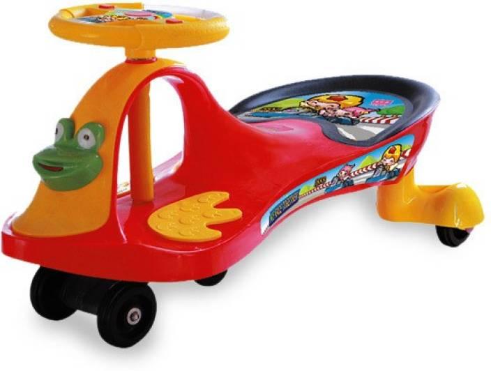 Uae360 Magic Swing Car Yellow And Red Magic Swing Car Yellow And