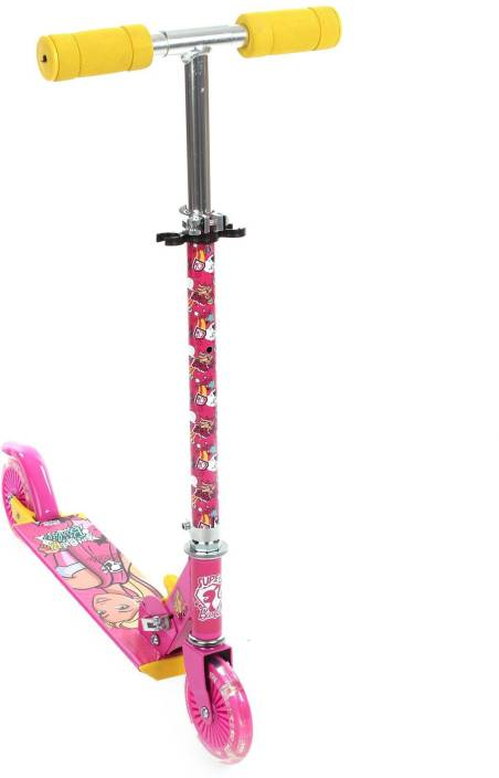 Barbie Two Wheel Scooter With Lights