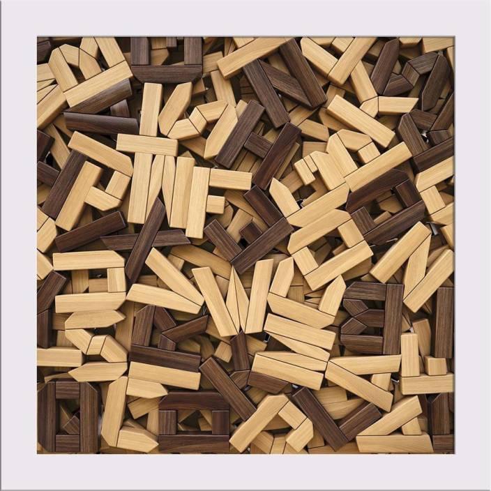 Artzfolio Photo Of Wooden Letters Framed Art Print Digital Reprint