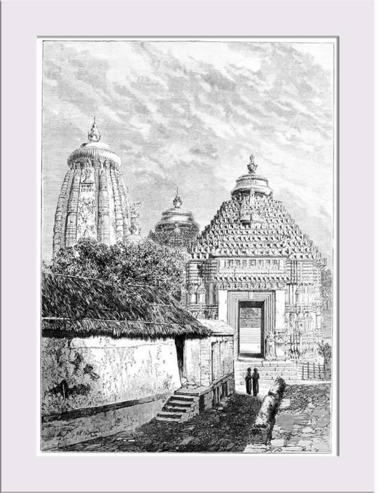 Artzfolio Victorian Engraving Of The Konark Sun Temple Orisha India