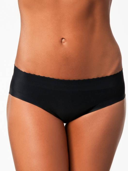 e93ac303c PrivateLifes Butt Lifter Low Waist Panties Women s Hipster Black Panty  (Pack of 1)