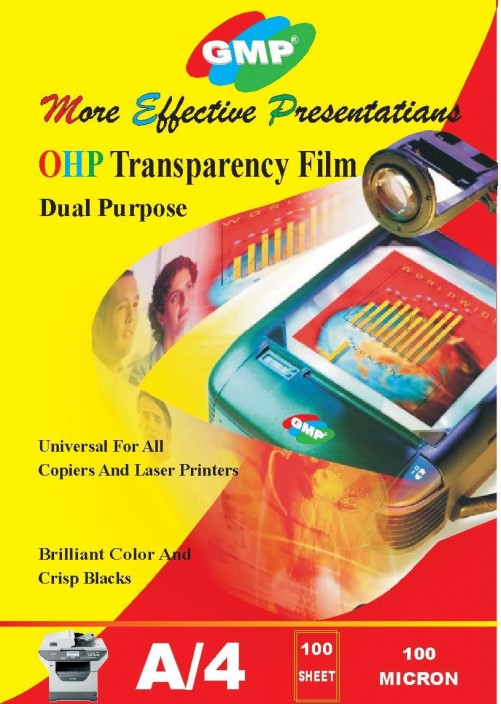 Clear C-Line Transparency Film 8.5 x 11 Inches