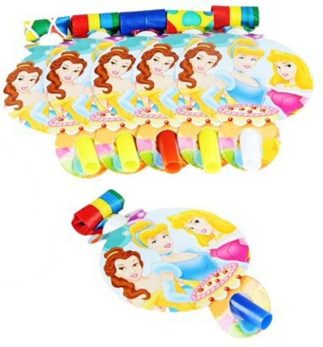 Funcart Three Princess Party Blowouts
