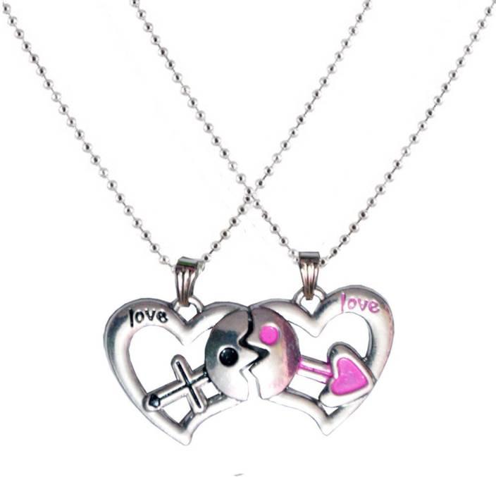 Men style couple love you heart mangnetic alloy pendant price in men style couple love you heart mangnetic alloy pendant aloadofball Images