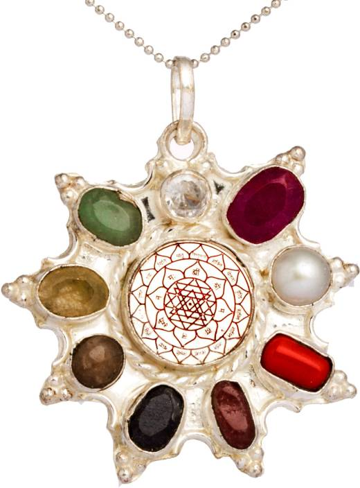 Astroyogi navratna silver silver pendant price in india buy astroyogi navratna silver silver pendant mozeypictures Choice Image