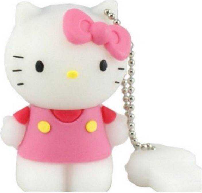 Dragon 3D Cartoon Hello kitty shape Toy 8GB capacity Cute Flash drive memory stick 8 GB Pen Drive