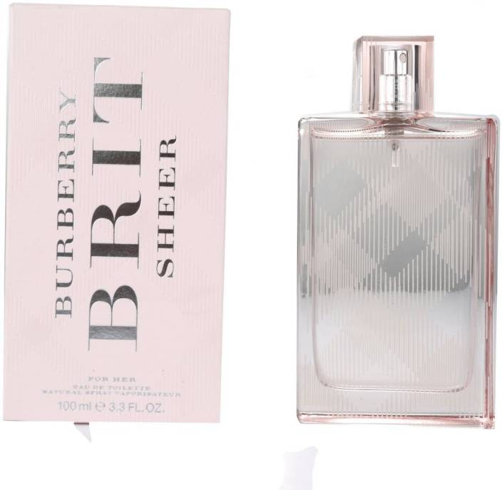 d3a5693dae Buy Burberry Brit Sheer EDT - 100 ml Online In India | Flipkart.com