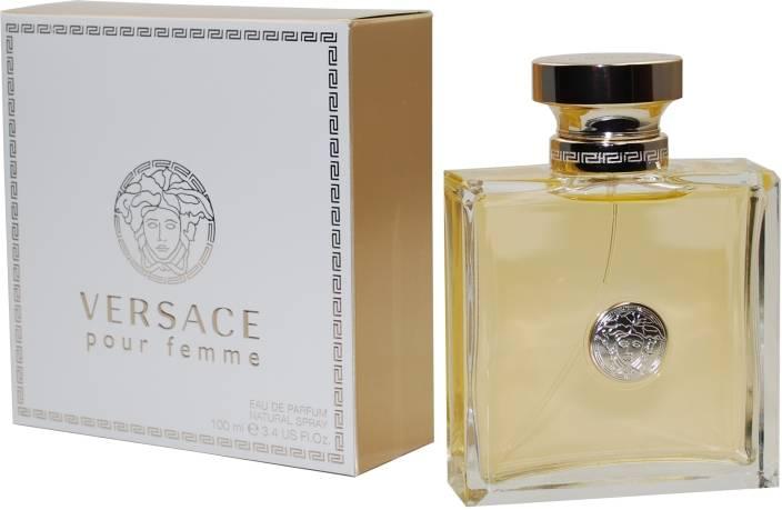 Buy Versace Pour Femme EDP - 100 ml Online In India   Flipkart.com aa220d6579d6