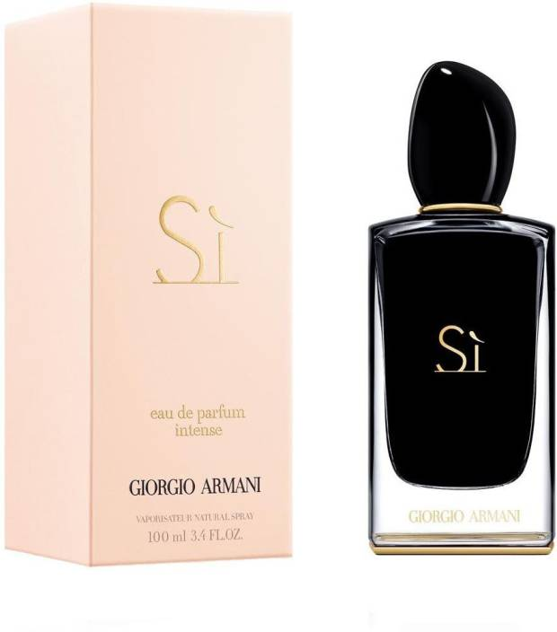 Buy Giorgio Armani Si Intense Eau de Parfum - 100 ml Online In India ... 66db3c7113891