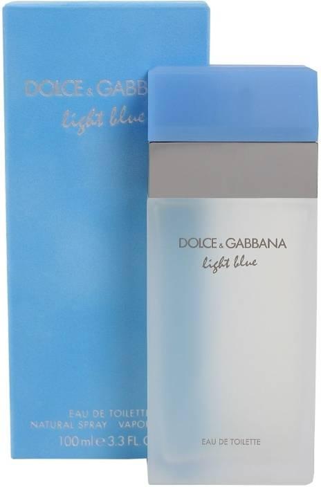 16f8bfd9 Buy D&G Light Blue EDT - 100 ml Online In India | Flipkart.com