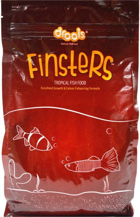 Drools Finsters Tropical Food 1kg | Excellent Growth & Color Enhancing  Formula 1 kg Dry Fish Food