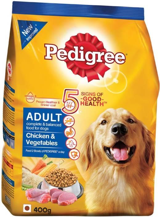 Pedigree Chicken Vegetables 400 G Dog Food Price In India Buy