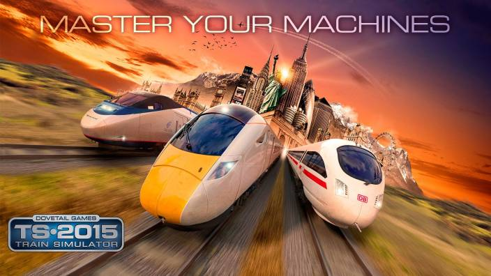 Train Simulator 2015 with Free Poster