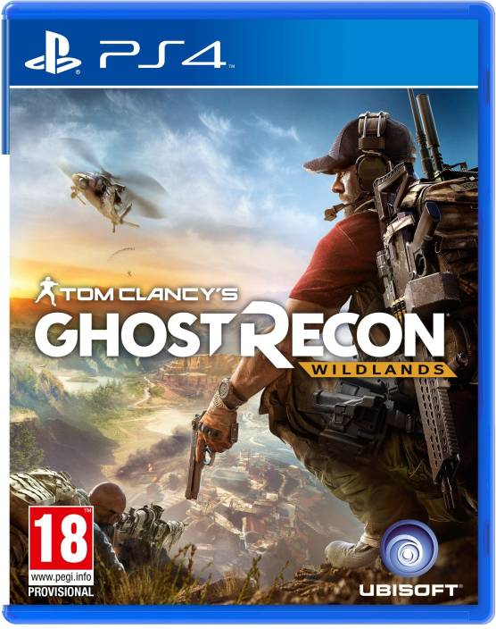 Tom Clancy's Ghost Recon: Wildlands  (for PS4)