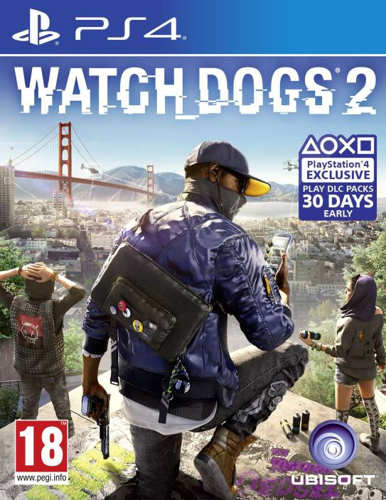 Watch Dogs 2  (for PS4)