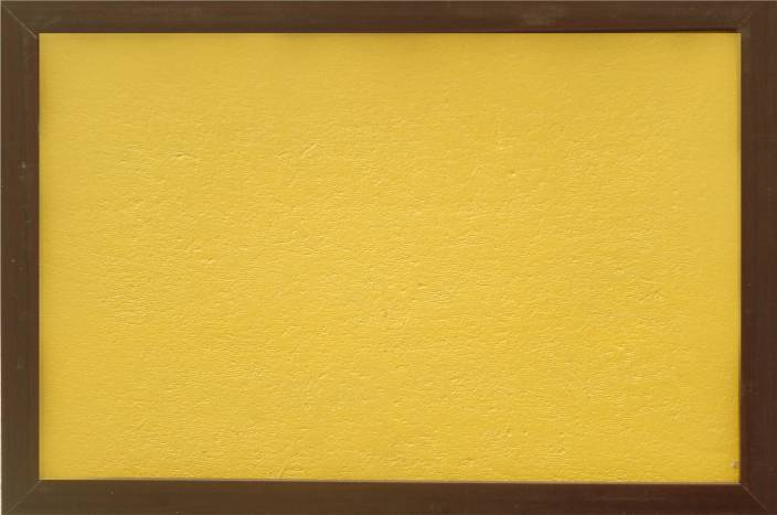 Kanico 2 X 3 Feet Notice Board Bulletin Light Yellow