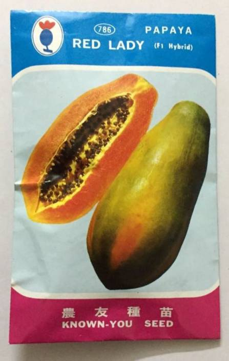 Green World Red Lady Taiwan Papaya Seeds Seed Price In India Buy