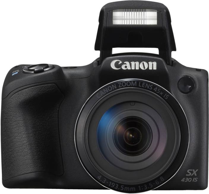 a07b32154612 Canon Powershot SX430 IS Point and Shoot Camera Price in India - Buy ...