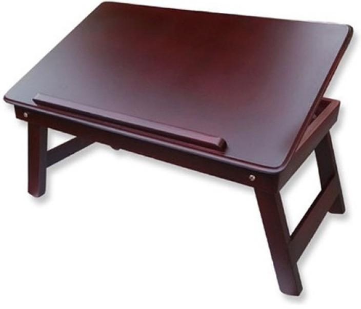Table Mate II Solid Wood Portable Laptop Table
