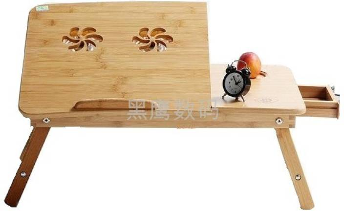 Tablemate Wooden Adjustable Solid Wood Portable Laptop Table Price