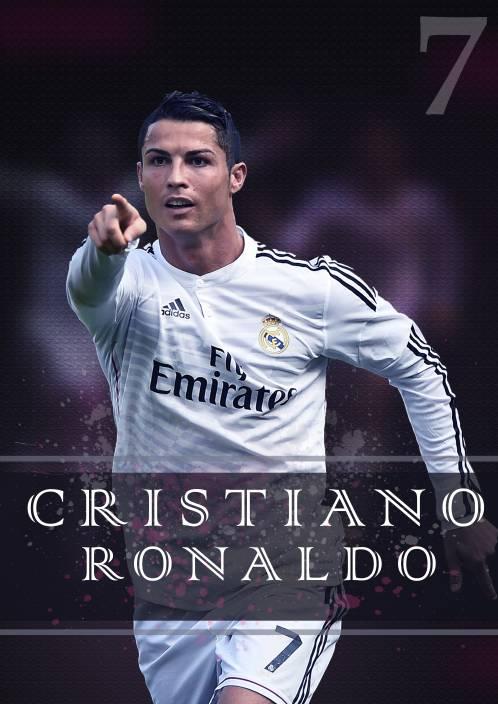 Cristiano Ronaldo Poster Paper Print Sports Pop Art Posters In India Buy Art Film Design