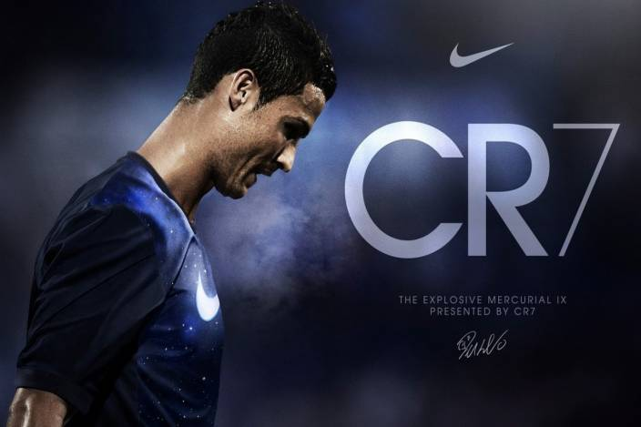 78075339ad4 CR7 Cristiano Ronaldo Poster Paper Print - Sports posters in India ...