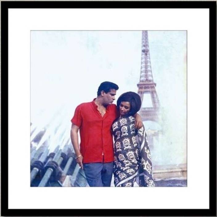 Shammi Kapoor and Sharmila Tagore in Evening in Paris Photographic Paper