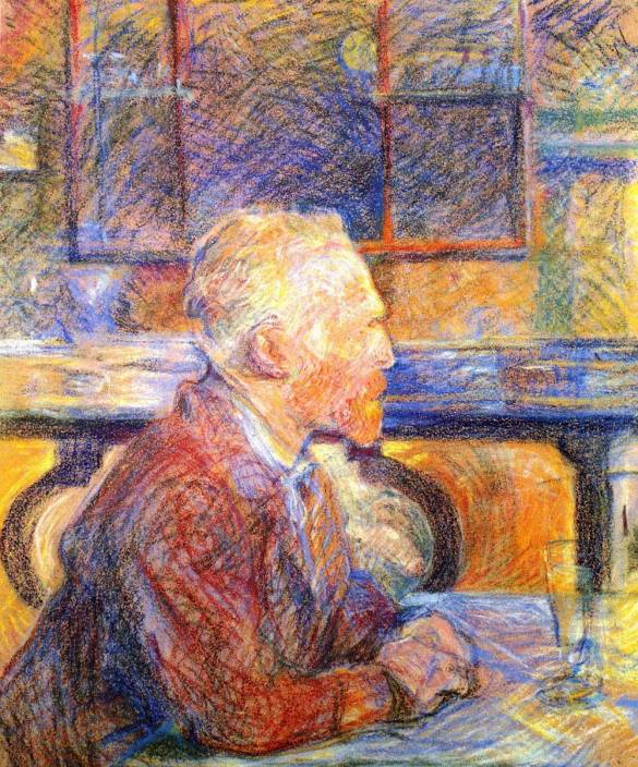 The Museum Outlet Portrait Of Van Gogh By Toulouse Lautrec