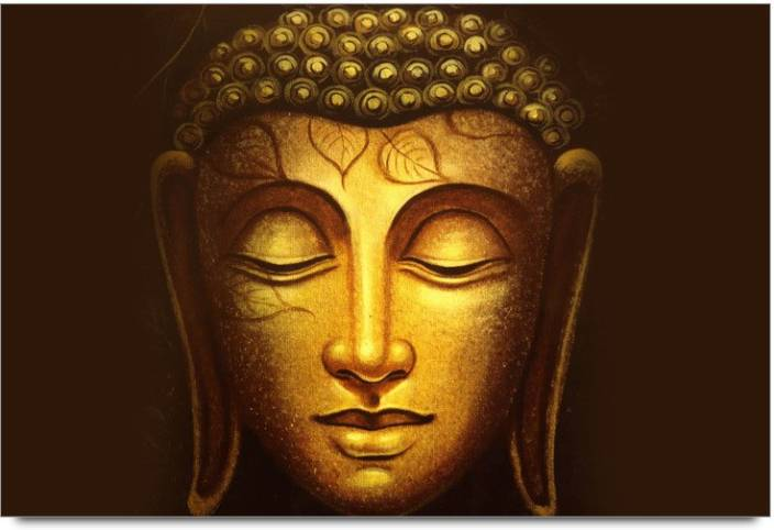 Amy Gloden 3D Lord Buddha Face Poster