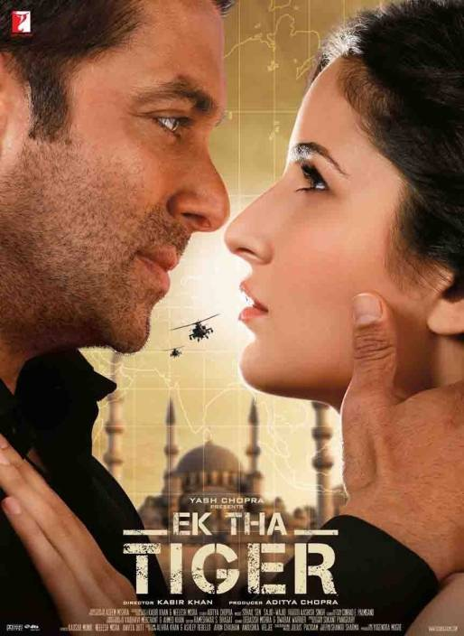Ek Tha Tiger - 2012 Paper Print - Movies posters in India