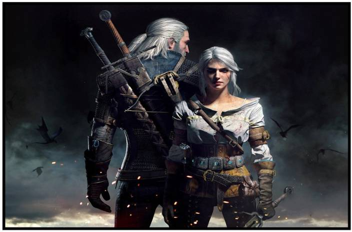 The Witcher Posters - Game Poster - #Gaming Photographic Paper