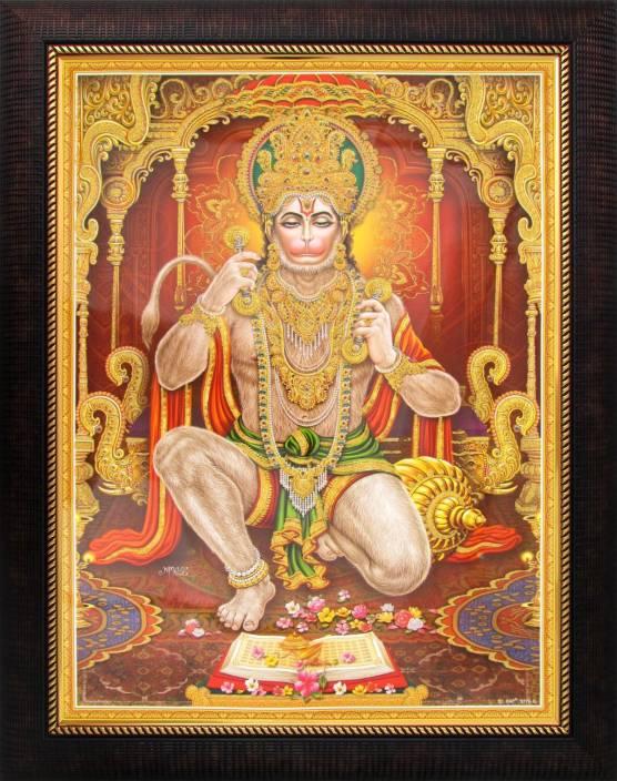 lord hanuman hanumanji poster paper print art paintings
