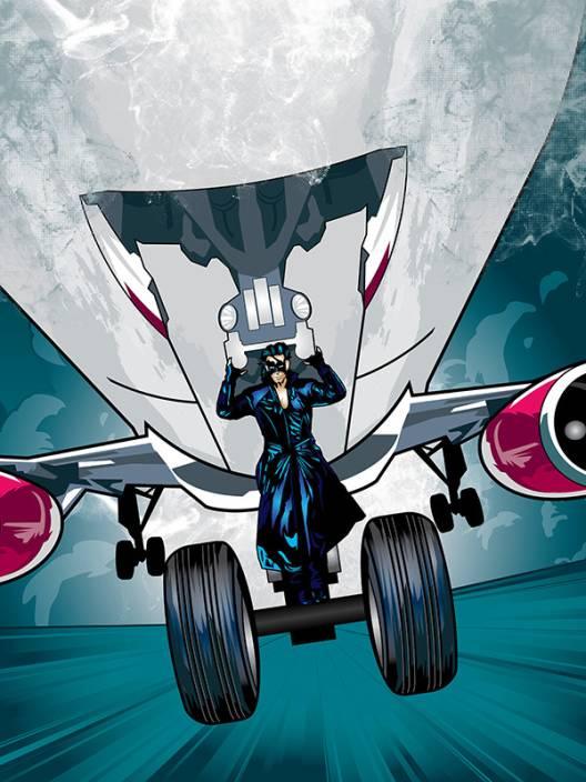 Krrish 3 Licensed Action Poster by bluegape Paper Print
