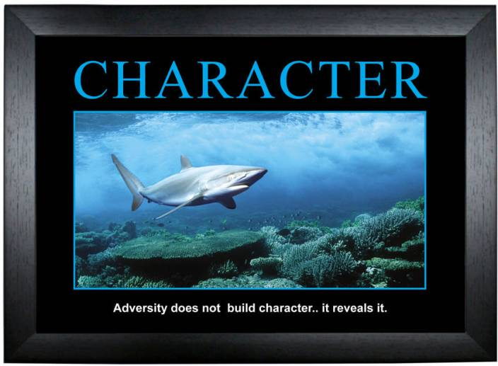 Character Motivational Poster Photographic Paper Quotes Amp Motivation Posters In India Buy