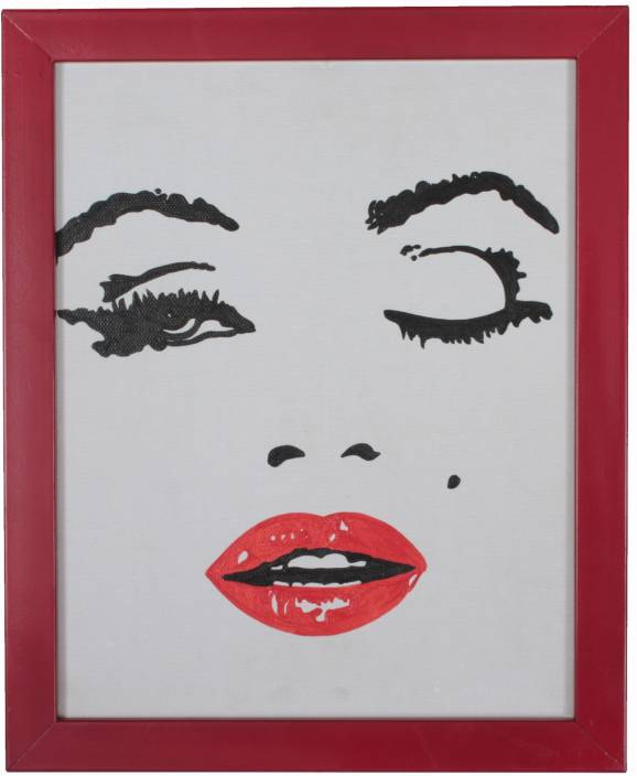 78f177abced7 Marilyn Monroe'S Painting On Canvas Art - Pop Art posters in India ...