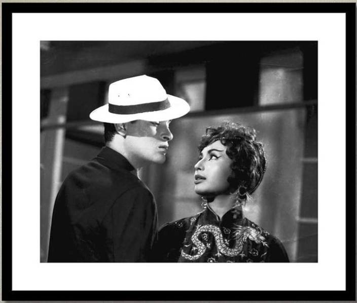 Shammi Kapoor and Helen - 2 in China Town Photographic Paper