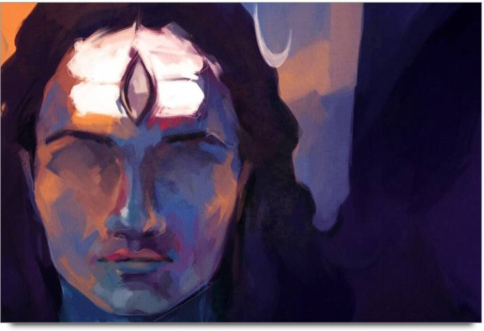 Amy Lord Shiva Abstrct Painting Art 3D Poster - Nature