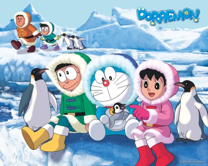 Doraemon Cartton Character Hd Wallpaper On Fine Art Paper Fine Art