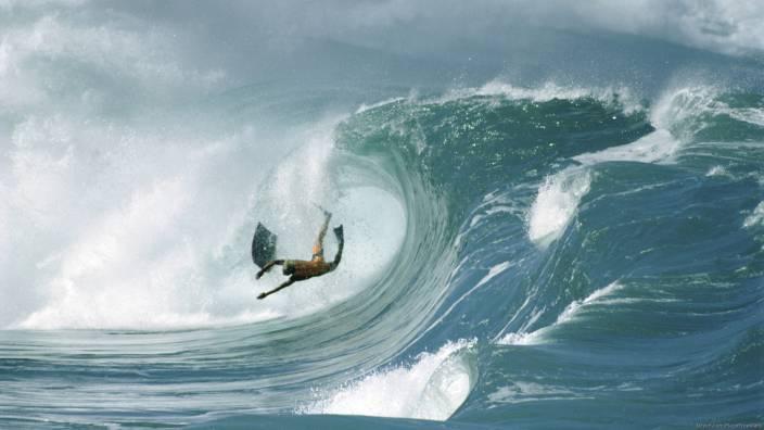 8384dec096a6f0 Akhuratha Poster Sports Surfing Wave Ocean Surf Wipeout Bodyboarding HD  Wallpaper Background Fine Art Print (12 inch X 18 inch