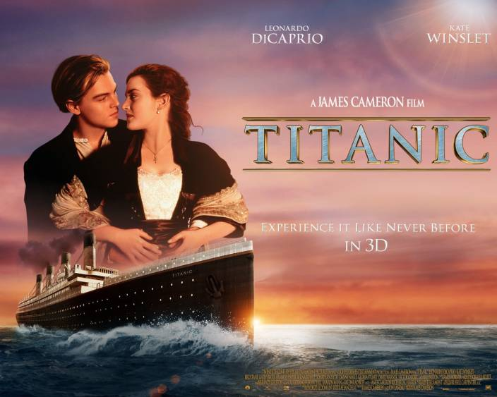 Movie Titanic Hd Wallpaper Background Paper Print Movies Posters
