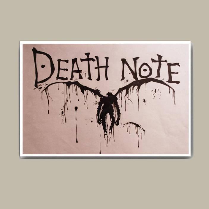 Death Note Ryuk Wall Hang Fine Art Print Abstract Posters