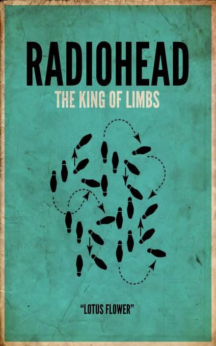 Posterhouzz Lotus Flower Radiohead Poster Paper Print Music