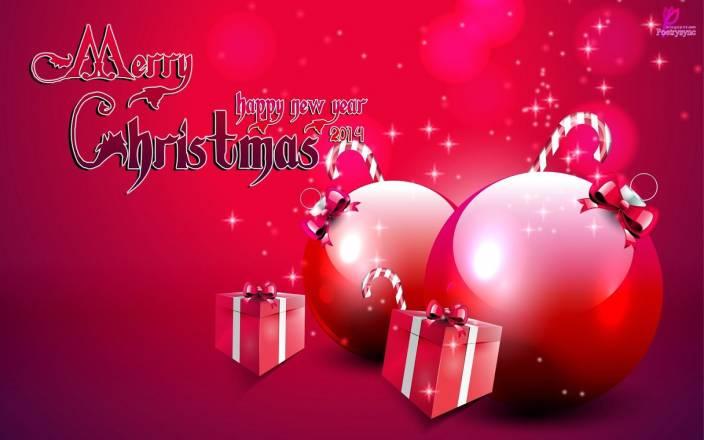 Merry Christmas Greetings Christmas Gift New Year 2017